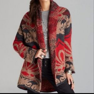 Winter's day blanket cardigan